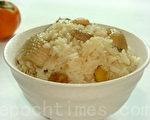 麻油鸡饭是冬天进补的养身料理(摄影: 林秀霞 / 大纪元)