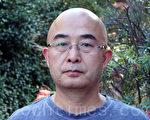 11月18日,首次脱离中共拘禁来到澳洲的中国底层文学作家、诗人、表演艺术家廖亦武。(摄影:袁丽/大纪元)