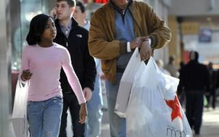 调查:美节日购物 每人平均花48小时