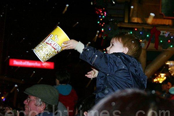 聖荷西「聖誕節在公園」助節日氣氛