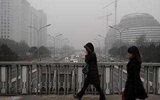 霧鎖大陸九省 北京污染數據爆表 呼吸道病者驟增