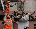 東部城市加爾各答(Kolkata)的AMRI醫院大火,已造成61人死亡。(AFP)