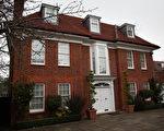 卡扎菲三儿子在伦敦的豪宅,价值1,000万镑。(Peter Macdiarmid/Getty Images)(Staff: Peter Macdiarmid / 2011 Getty Images)