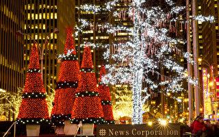 組圖一:紐約浪漫聖誕節