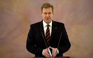 德国总统伍尔夫12月22日举行记者招待会,公开道歉,但不辞职。(JOHANNES EISELE/AFP/Getty Images)