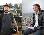 瑞典文字记者席比耶(Martin Schibbye右)和摄影记者培尔松(Johan Persson左)被埃塞俄比亚(Ethiopia)法院以支持恐怖主义及非法入境罪名,判处11年有期徒刑。(法新社合成图AFP PHOTO/SCANPIX/Kontinent Agency/Jonas Gratzer)