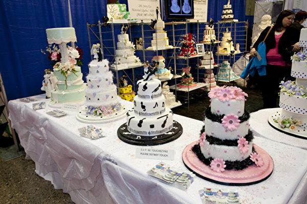 婚庆蛋糕(摄影:艾文/大纪元)