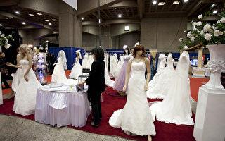 新娘婚纱(摄影:艾文/大纪元)