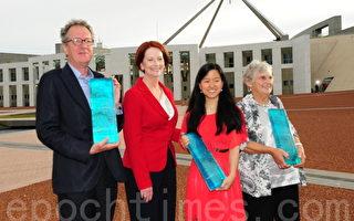 2012澳洲人奖  华裔女孩上榜