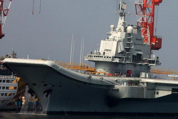商业周刊:中共的第一艘航母秘密