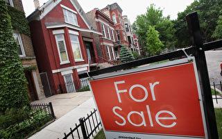《经济参考报》近日在北京、上海、广东等做了一项专题调查,国内千万富翁已经或正在考虑移民的比例已近六成。图为,美国芝加哥正在出售的房产。(PScott Olson/Getty Images)