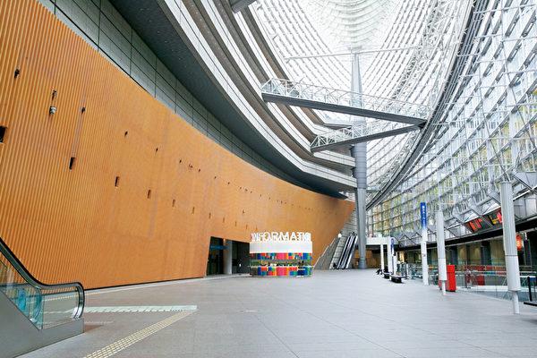 東京國際論壇大樓大堂(圖片來源:Tokyo International Forum)