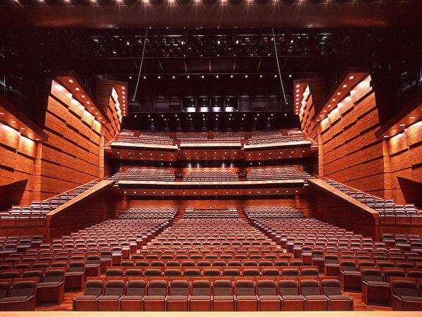 神韻藝術團將在東京國際論壇大樓內的音樂廳C演出。(圖片來源:Tokyo International Forum)