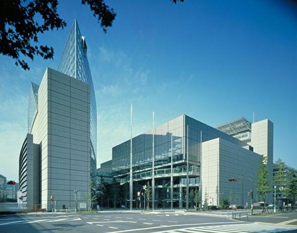 東京國際論壇大樓的外貌。(圖片來源:Tokyo International Forum)