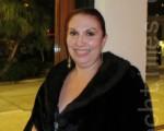 牙醫師索尼亞.約翰遜(Sonia Johnson)說:「神韻演出給她帶來詳和,快樂和心靈上的滿足感,她的心被深深地觸動了。」(攝影﹕李新/大紀元)