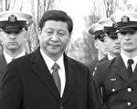 中共国家副主席习近平(前)14日首次在白宫与美国总统奥巴马举行了会谈。(摄影: 李莎 / 大纪元)