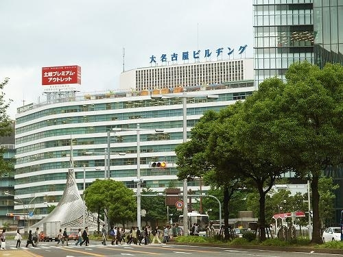 名古屋市区一景。(图片/Wikipedia)