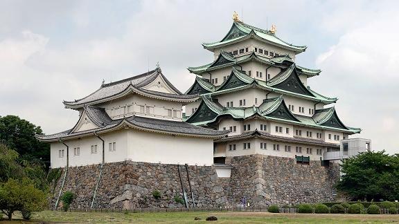 被列入日本一百名城之一的名古屋城。(图片/Wikipedia)