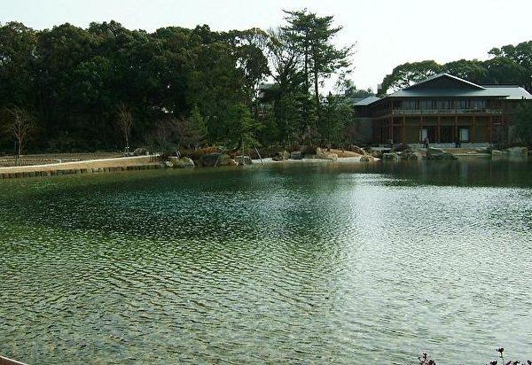 名古屋市内名胜之一的德川园。(图片/Wikipedia)