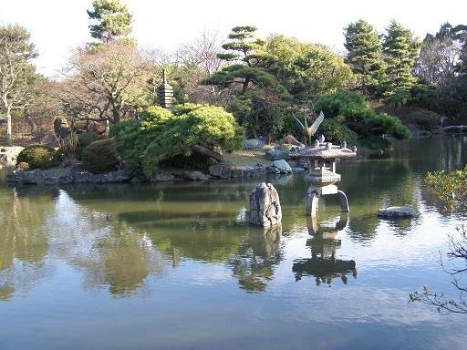 名古屋市内的赏樱名所鹤舞公园。(图片/Wikipedia)