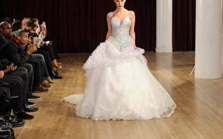奔馳時裝週 Saint Wobil優雅禮服裙