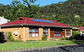 澳洲有超過兩成家庭安裝了太陽能電池板,屬世界人均數量最高國家。(簡玬/大紀元)