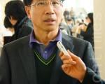 韩国专利法院首席审判长权泽操。(摄影: 金国焕/ 大纪元)