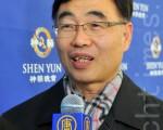 """韩国化学研究院俱乐部会长李载洛:""""我认为神韵是能让人信心昂扬、发人深省的演出。我相信神韵对净化人间社会,会起到相当大的作用。""""(摄影:李裕贞/大纪元)"""