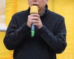 香港支联会主席李卓人(摄影:宋祥龙/大纪元)