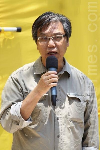 黃成智冀有理想正義感者出來挑戰腐敗獨裁