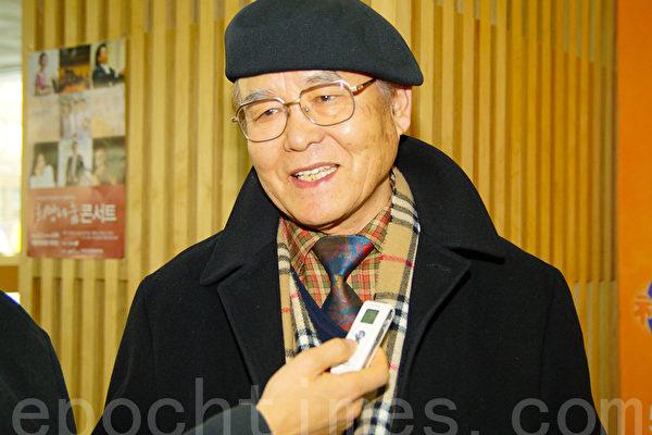 韩国富源光学株式会社会长朴春逢(摄影:金国焕)
