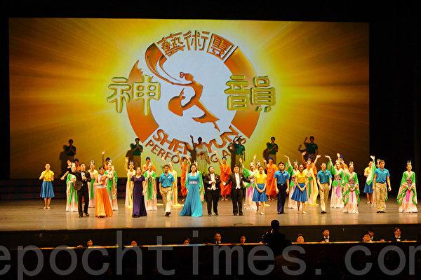3月4日下午,神韵纽约艺术团在韩国最后一场演出,在安养艺术中心圆满落幕,为神韵韩国巡演7天11场的演出划上完美句号。(摄影: 金国焕 / 大纪元)