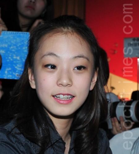 继花滑女王金妍儿之后,韩国排名第二的花滑名将郭珉整。(大纪元资料图片)