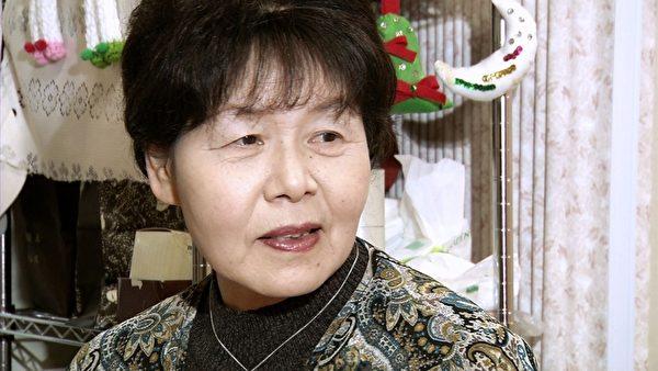 中川惠美子夫人(攝影:楊樹森/大紀元)