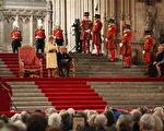 女王对上下两院的议员发表演说。 (Ben Gurr - WPA Pool /Getty Images)