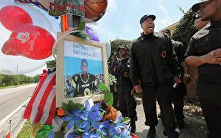 手无寸铁的17岁黑人青少年马丁的死在全国强烈反响 (摄影﹕Mario Tama/Getty Images News)