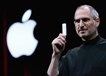蘋果公司CEO史蒂夫•喬布斯(Steve Jobs)(Justin Sullivan/Getty Images)