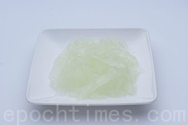 绿豆粉皮(摄影: 江柏逸 / 大纪元)