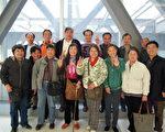 上海访民在火车站迎接毛恒凤(上海访民提供)