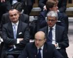 法国外长朱佩(Alain Juppe)12日在安理会上,谴责叙利亚政府无视停火协议,境内的暴力冲突仍不断,并提出派遣观察团进入叙国,评估大马士革政府是否遵守协议。(John Moore/Getty Images)