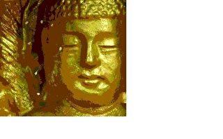 """2005年初,在韩国全罗南道顺天市海龙面的须弥山禅院,菩萨像面部开了10朵优昙婆罗花。出自""""大纪元新闻网"""",网址是:http://www.epochtimes. com/gb/7/3/2/n1634051.htm"""