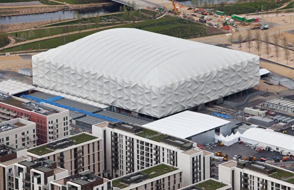2012倫敦奧運會官方發佈場館航拍照(ANTHONY CHARLTON/AFP)