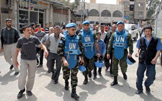 潘基文呼吁安理会通过将观察团人数扩大至300人,以确保叙国当局在各方面朝和平移交政权方面进展。(AFP)