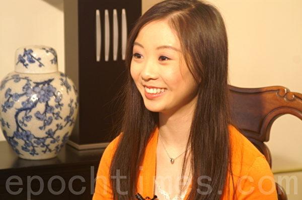 陈超慧于2012年3月在纽约接受采访。(摄影:Chaohui Chen/大纪元)