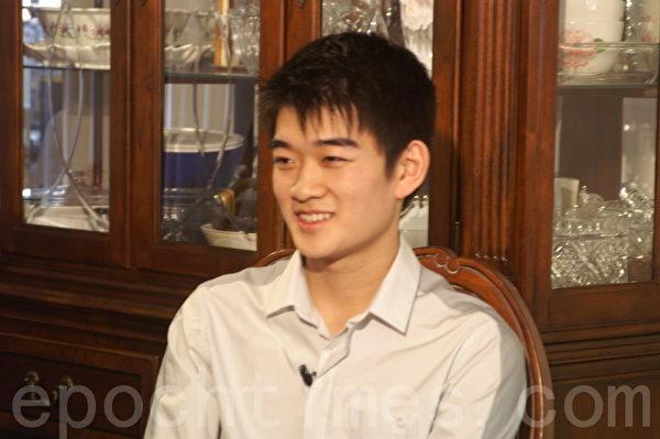 李宝园于2012年3月在纽约接受采访。(摄影:大纪元)