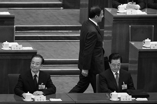 胡锦涛温家宝在两会上(图片来源:Getty images)