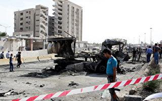 叙利亚首都大马士革10日清晨发生两起猛烈爆炸,爆炸目前已造成至少40人死亡,将近200人受伤。(LOUAI BESHARA/AFP/GettyImages)