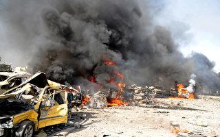 大马士革5月10日发生近来最严重的自杀炸弹攻击事件。(AFP)