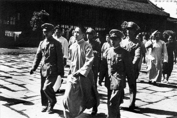 抗战胜利后,民国政府惩治了一批汉奸。(网络图片)