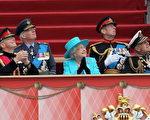 女王观看飞行表演(Chris Jackson - WPA Pool/Getty Images)